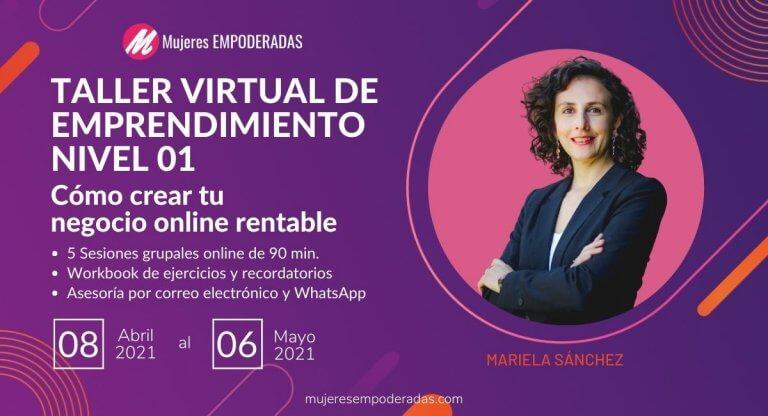 taller virtual de emprendimiento