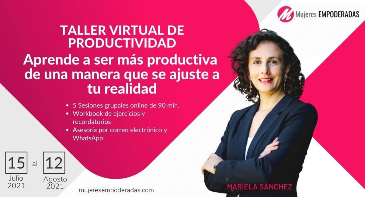 taller virtual de productividad